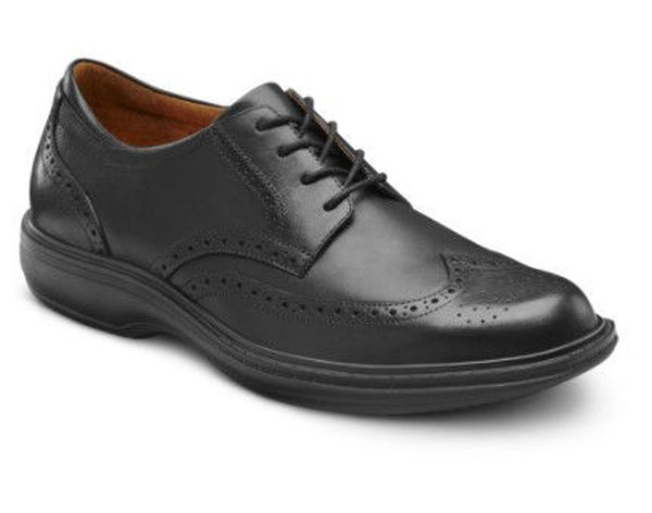 Picture of Dr Comfort Men's Wing-Tip Dress Shoes