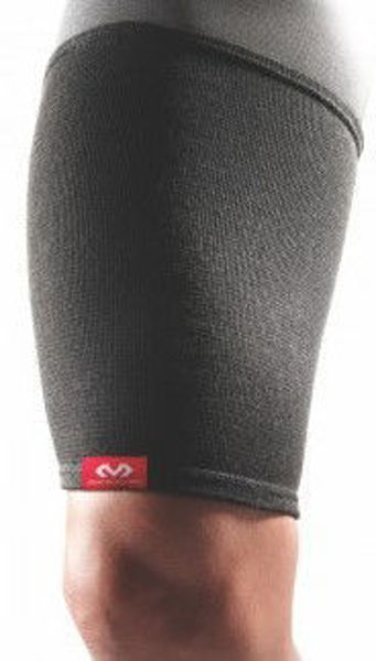 Picture of McDavid Sports Elastic Thigh Sleeve - Black