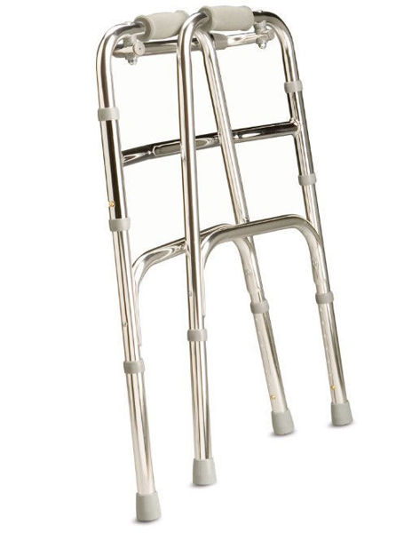 Picture of Walking Frame - Standard Folding, Silver