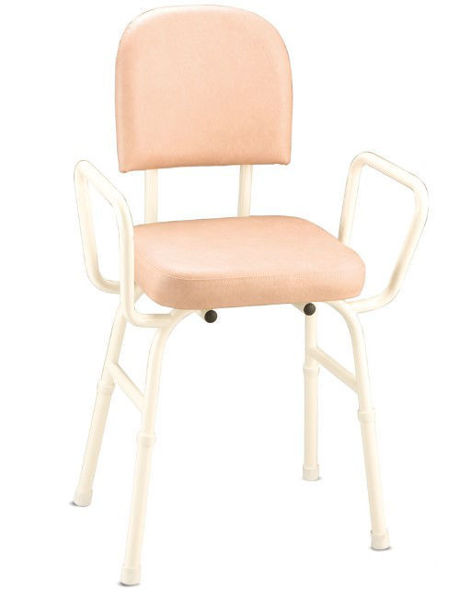 Picture of Perching Stool with Arms